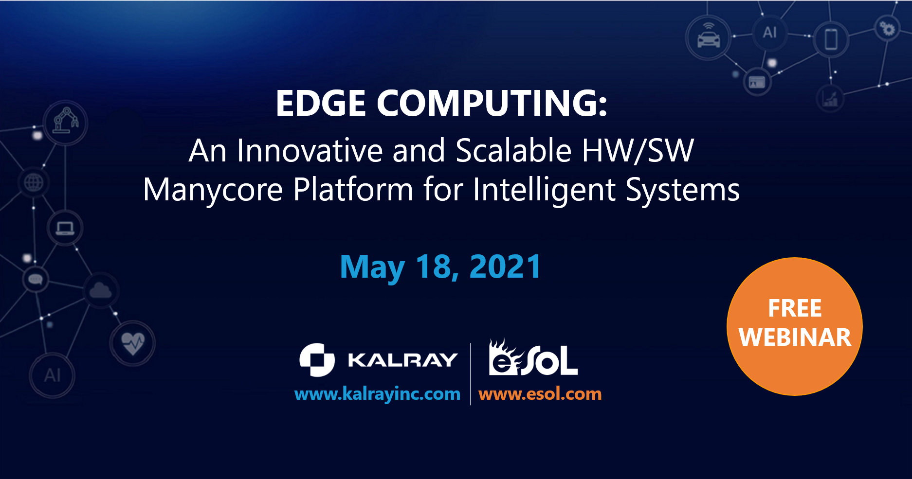 Edge Computing: An Innovative and Scalable HW/SW Manycore Platform for Intelligent Systems